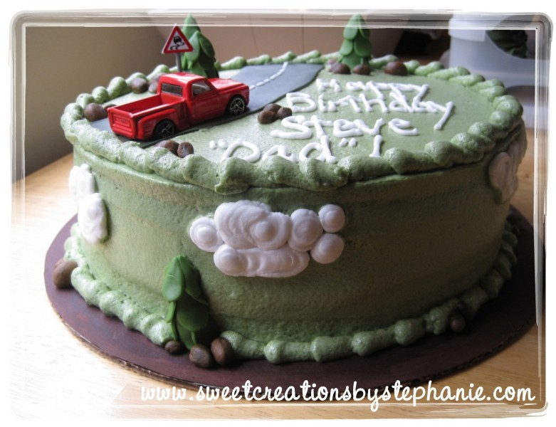 Steve Cake Happy Birthday Guitar
