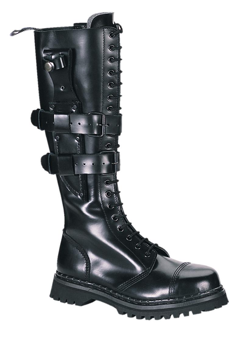 Top 6 Women Combat Boots Black Blue Image