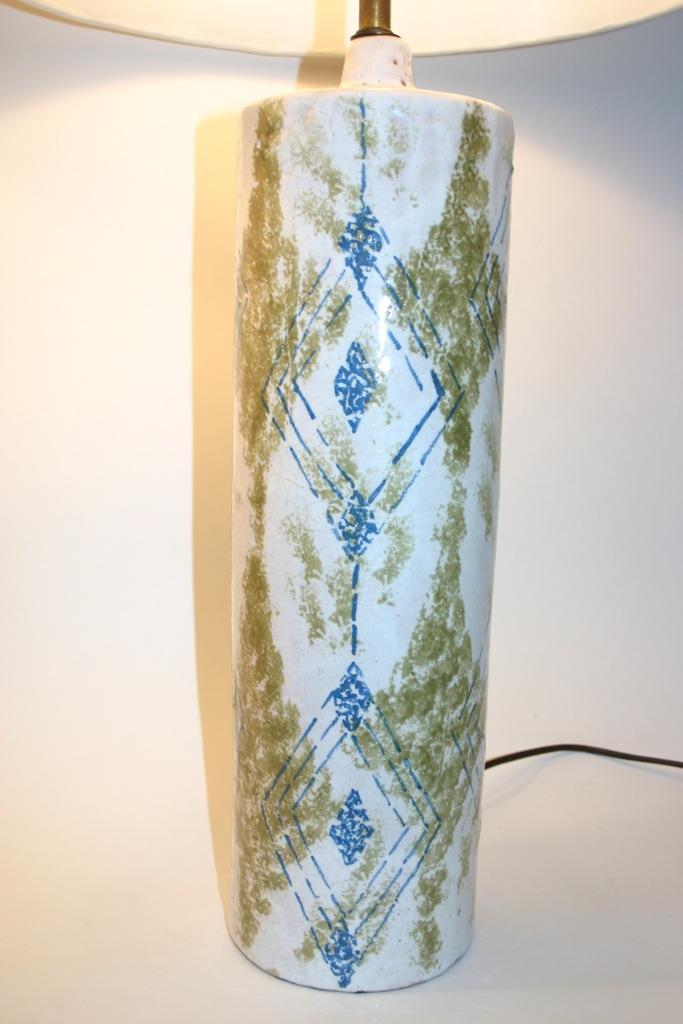cercis: Raymor Italian Ceramic Table Lamps