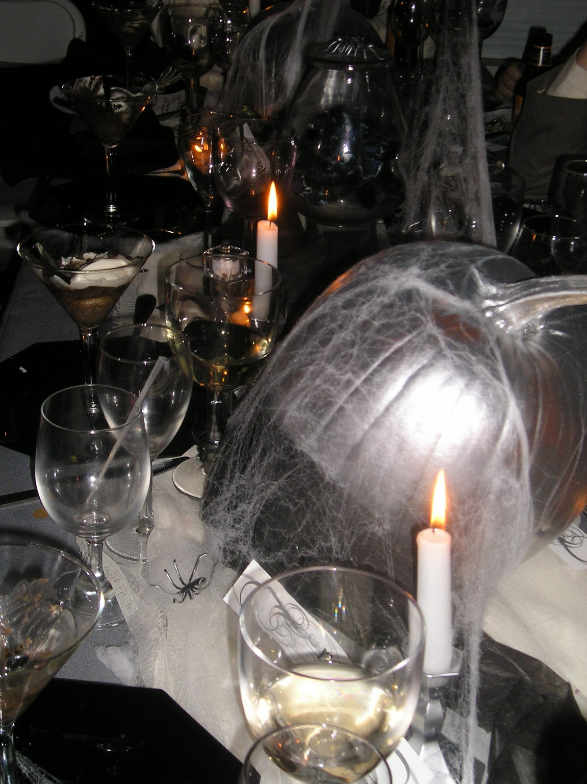 Real Party Haunted Halloween Dinner Party A Well
