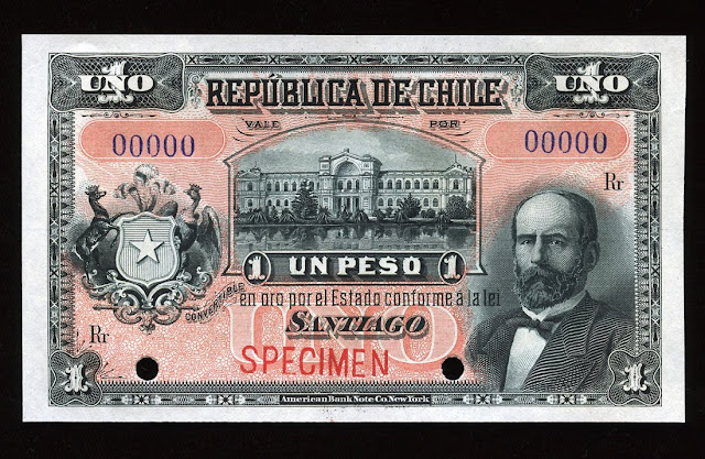 currency Chilean peso money banknote
