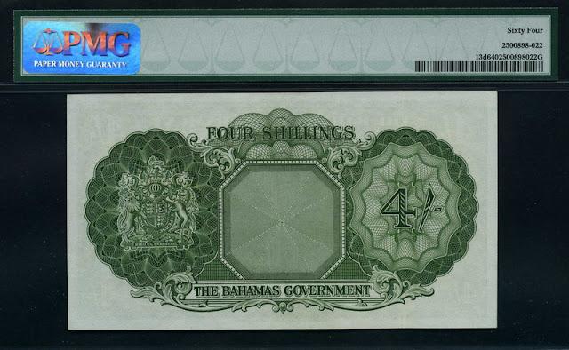 Bahamas 4 Shillings