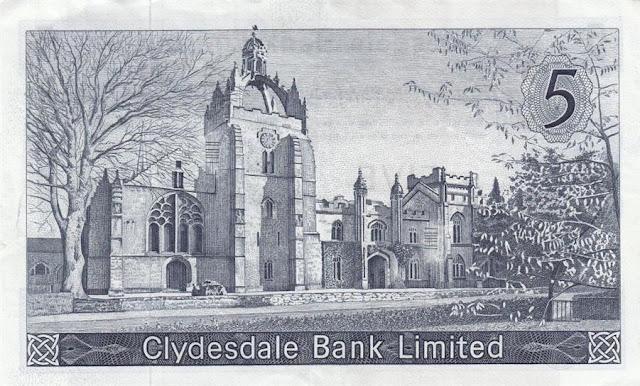 Scotland Clydesdale Bank Scottish Pounds