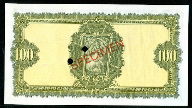 banknotes collection 100 Pounds note
