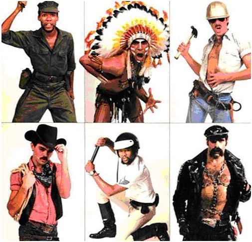 Village people characters