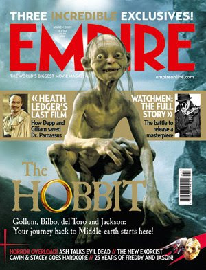 The Hobbit - Empire Magazine Cover - March 2009 Issue