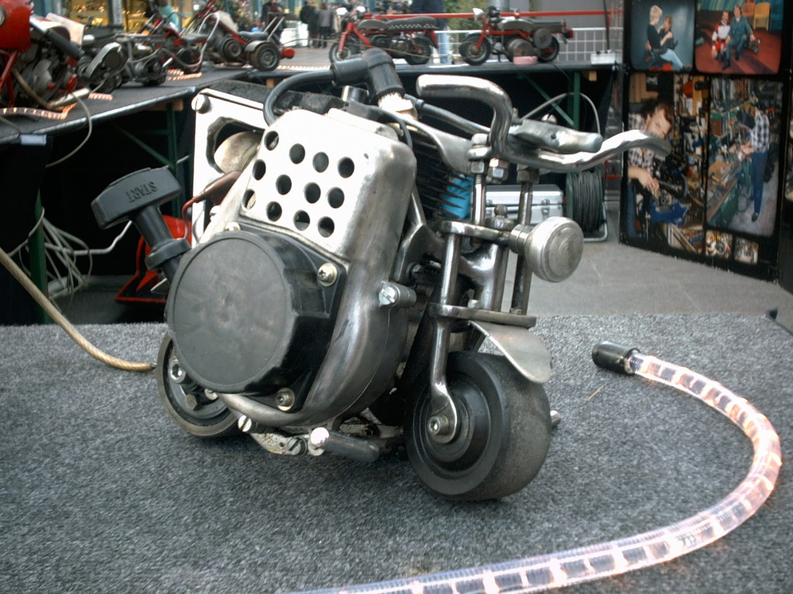 MOTORCYCLE 74: Micro Motorcycles