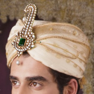 Turban Ornament,sherwani necklace,