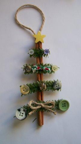 Cinnamon Stick Christmas Tree - S.C.R.A.P