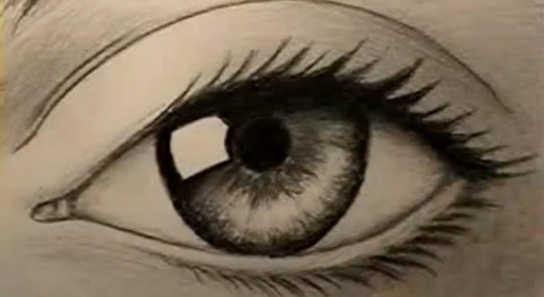 Como dibujar ojos de personas ~ Solountip.com