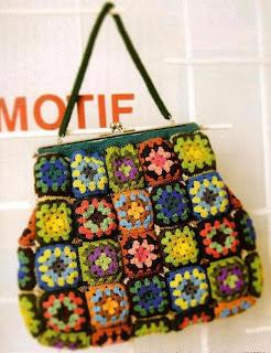 grandes ofertas en moda más fotos diferentemente Bolsas tejidas a crochet con patrones ~ Solountip.com