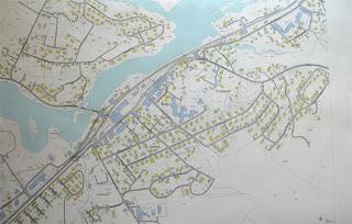 kart over evje Tettstedet Evje: Kart over Evje sentrum kart over evje