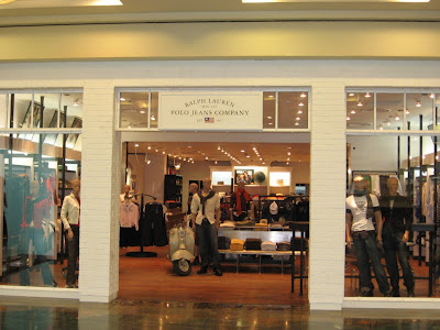 45c2d5ce8cc The Ralph Lauren Polo Jeans boutique offers excellent quality smart casual  outfits for men and women. The picture here is of the outlet in Deira City  Centre ...
