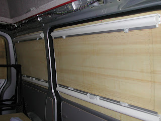 Project Campervan Blinds