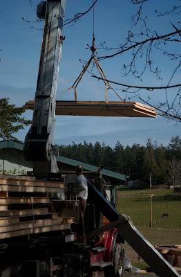Eye On Orcas Building A Timber Frame Homestead On Orcas