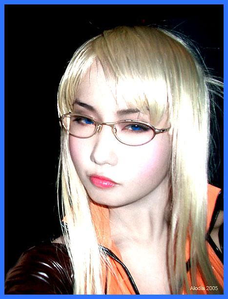 Alodia Gosiengfiao as Quistis Trepe from Final Fantasy VIII