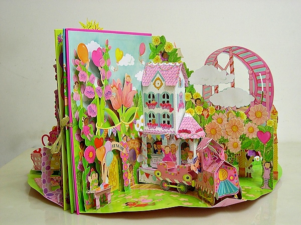 pop up storybook template - fairy princesses palaces and fairies on pinterest