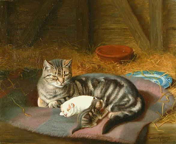 Painting by Horatio Henry Couldery