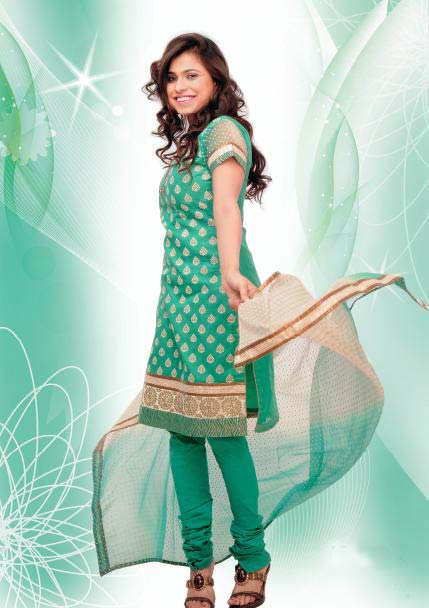 Green Suits for Women – Stylish Dresses for Pakistani and ...