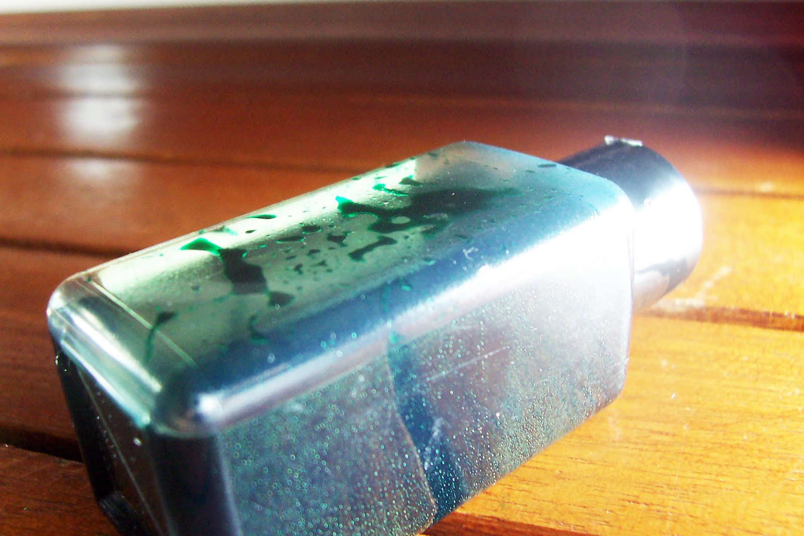 Ink Review: Diamine Woodland Green   Rants of The Archer