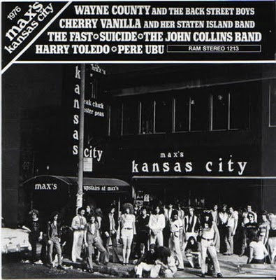 Image result for VA - Max's Kansas City Vol. II 1977 LP