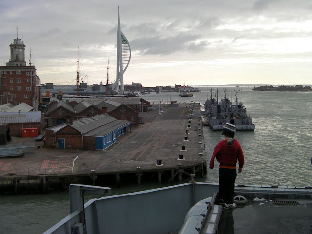 spinnaker tower portsmouth, french naval vessels