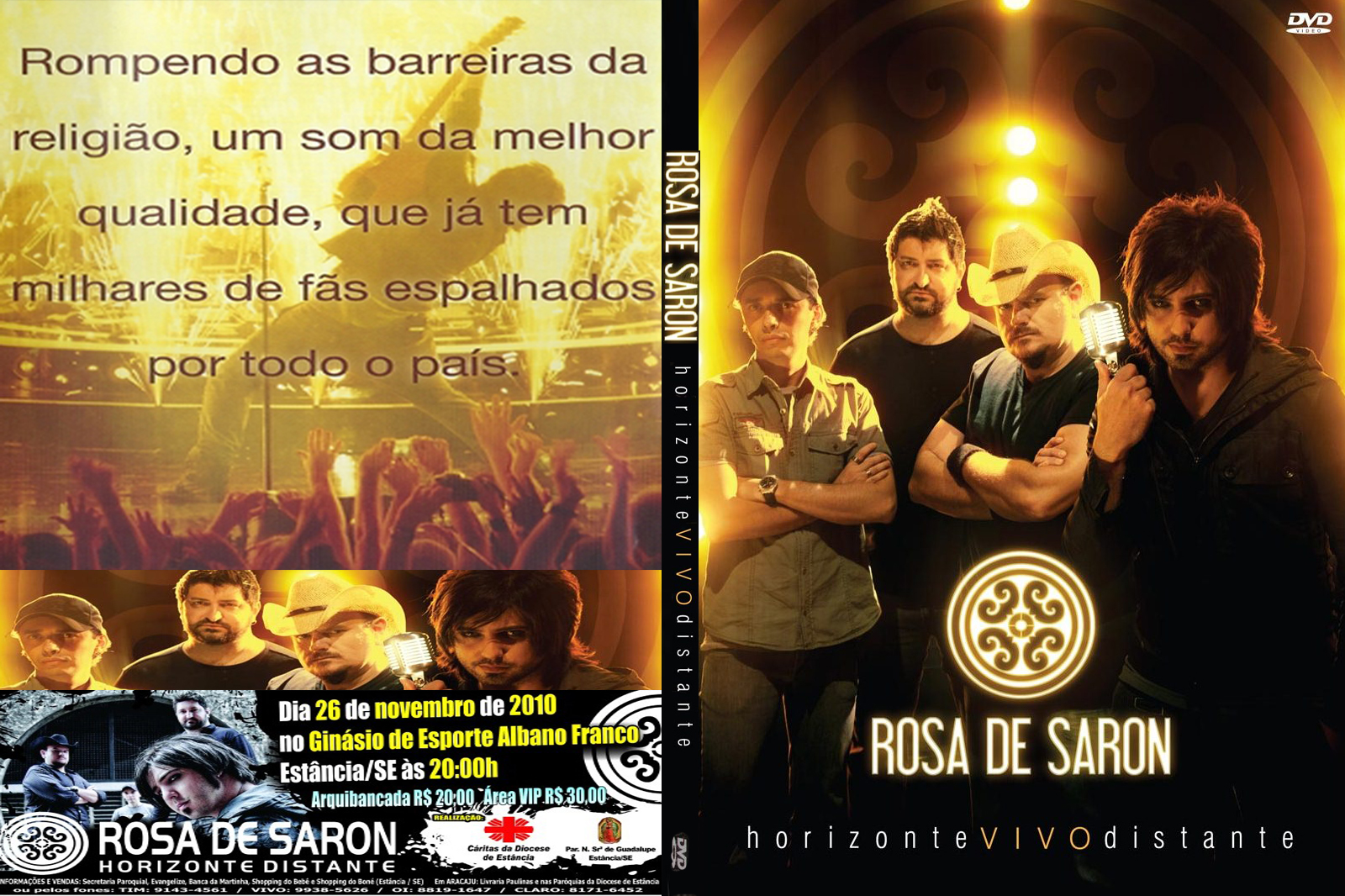 dvd rosa de saron horizonte vivo distante gratis