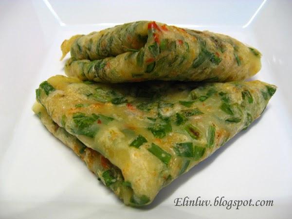 Elinluv S Tidbits Corner Chinese Chives Pancake