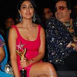 Hot Shriya Saran Leg Show From Stardust Award Function