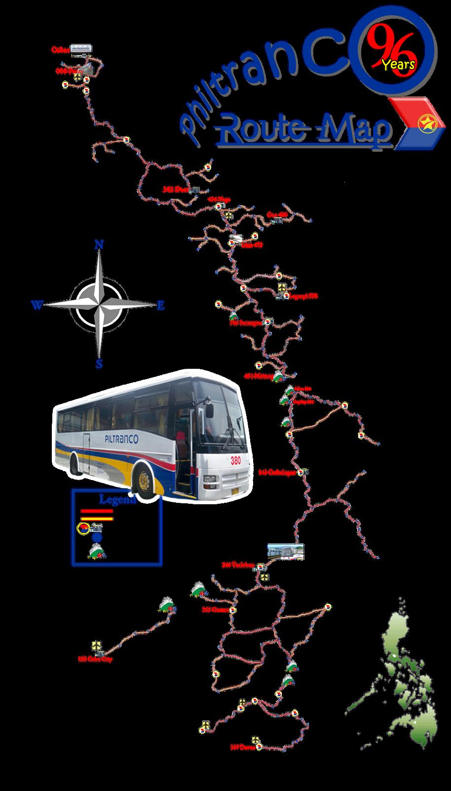 Philtranco Bus August 2010