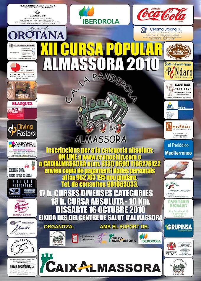 XII CURSA POPULAR D'ALMASSORA