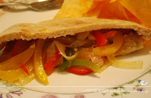 By Request: Sweet Pepper Pitas