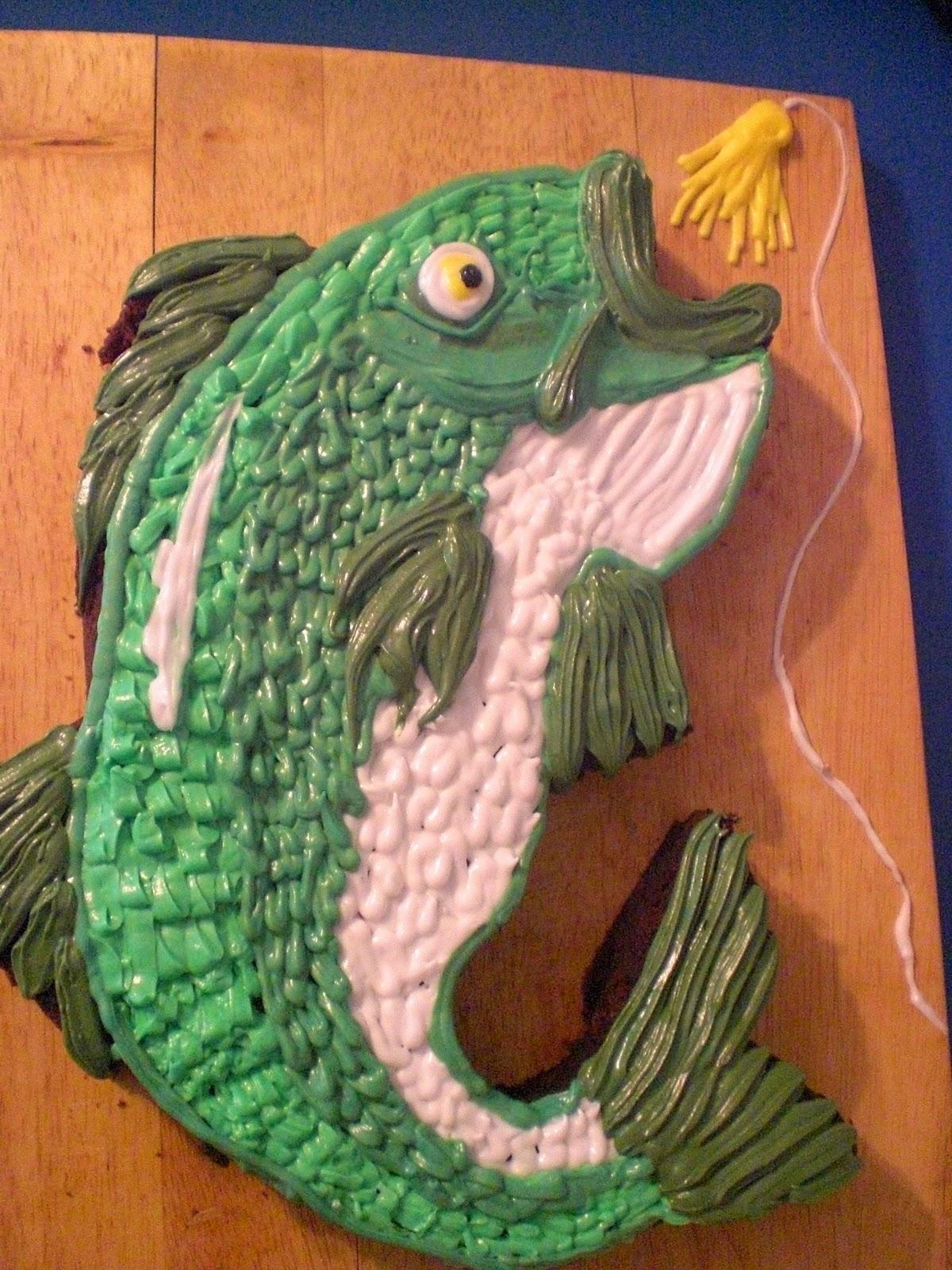 Sweetart William S Birthday Bass Cake