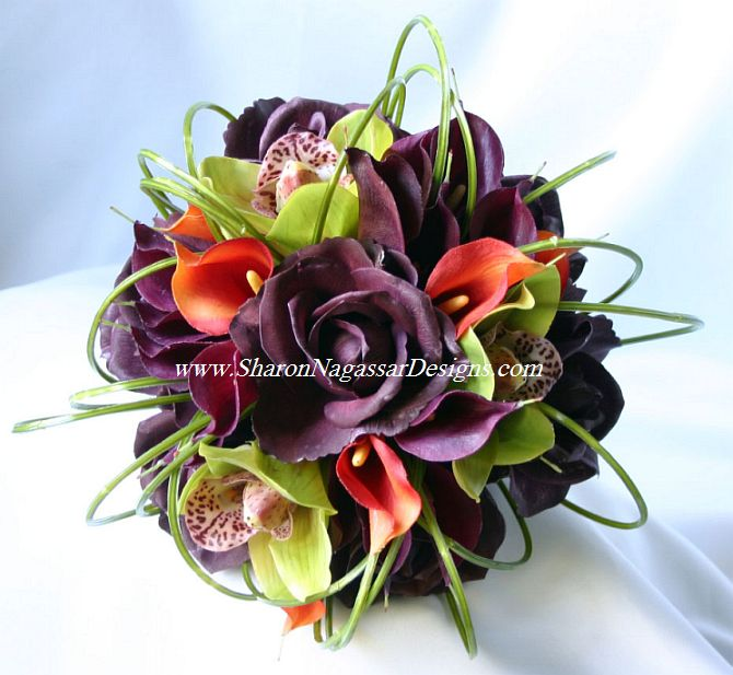 Eggplant And Red And Purple Wedding Ideas: Le Fabuleux Events Presents One Fab Event: Eggplant Weddings