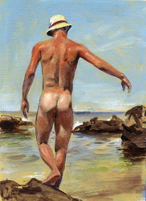 GAY  HOMOEROTIC ART ARTISTS Felix dEon