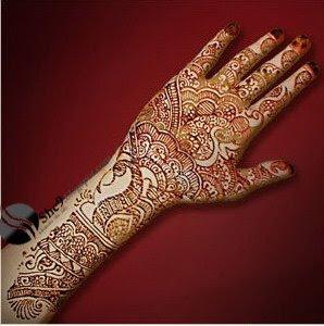 Simple Indian Mehndi desin