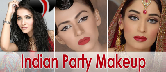 Indian Party Makeup Modern Trendy Makeover She9 Change The Life Style