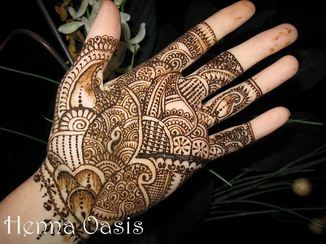 Latest & new Arabic and indian Mehndi Design - She9 ...