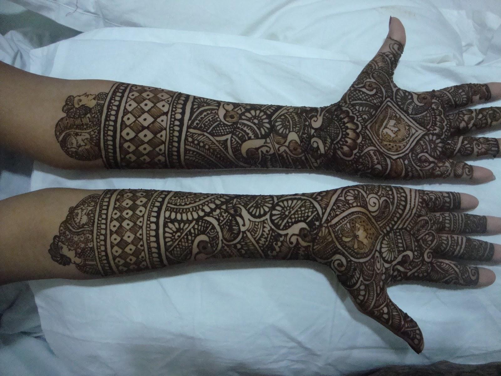 Bridal Mehndi Designs For Hands Fashion