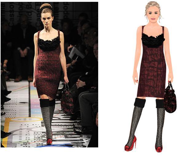 81f27c6795869 seen on STARDOLL!: Prada,Stella McCartney and more designer outfits ...