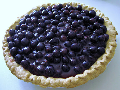 me HUNGRY! The Best Blueberry Pie EVER