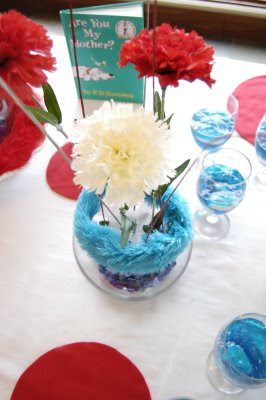 Dr. Seuss centerpiece