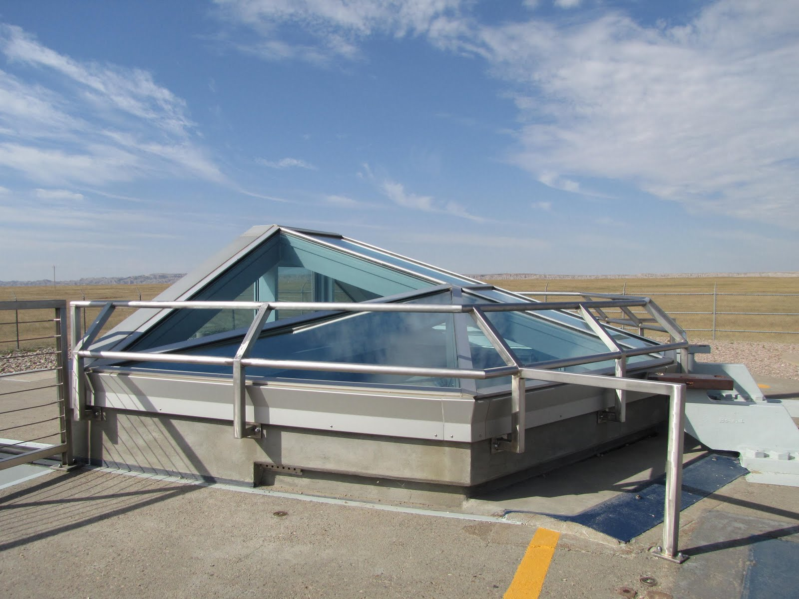one year trip: Nuclear Missile Silos Along the I-90