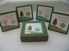 Trendy Trees Window Box Stamp Class Instructions