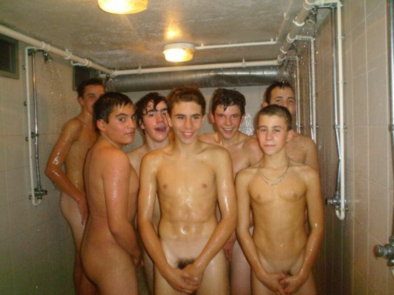 image Nude men group shower sex and hairy male