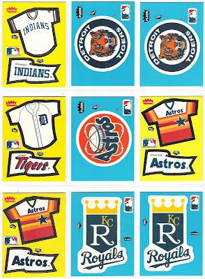 The Fleer Sticker Project 1985 Fleer Baseball Stickers