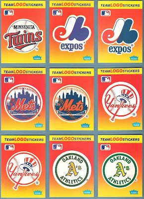 The Fleer Sticker Project 1991 Fleer Baseball Stickers