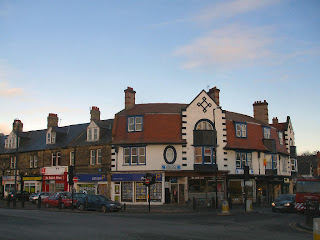 Junction with Church Road
