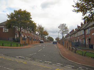 Abercorn Road from Broadmead way