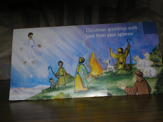 Christmas Greetings To My Sponsor.Yohanna S Yabb Letter From Sponsor Child Christmas Card